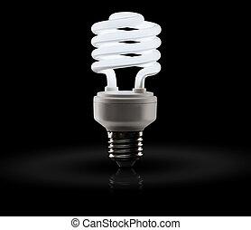 lumière fluorescente, ampoule