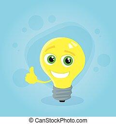 bleu pouce donner lumi re haut ampoule bleu pouce donner lumi re caract re haut. Black Bedroom Furniture Sets. Home Design Ideas