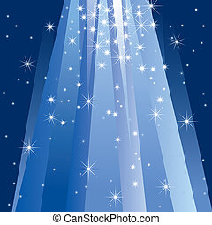 lumière, magie, (illustration)