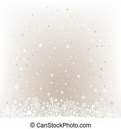 lumière, maille, doux, neige, fond