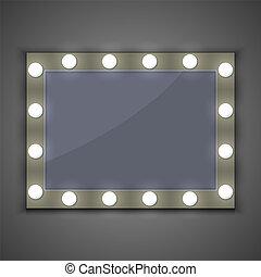 lumière, miroir