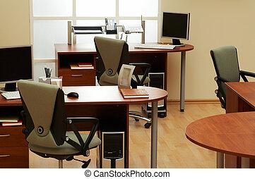 lumière, moderne, bureau
