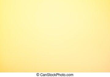 lumière orange, résumé, fond, jaune