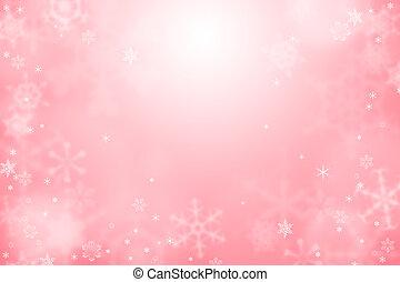 lumière, papier peint, hiver, rouges