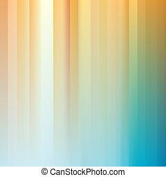 lumière, résumé, rayé, blue-yellow, arrière-plan.