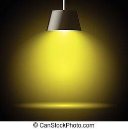 lumière, résumé, tache, fond