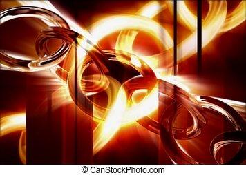 lumière, relier, jointure