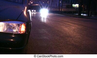 lumière, reveil, voiture