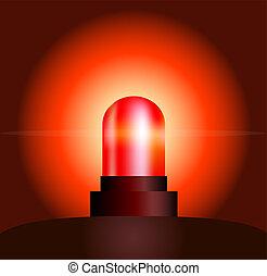 lumière, rouges