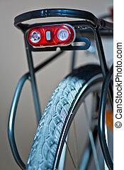 lumière, sécurité, vélo, scintillation, nouveau