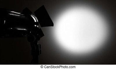 lumière, tache, arrière-plan.
