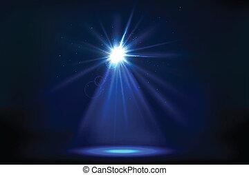 lumière, tache