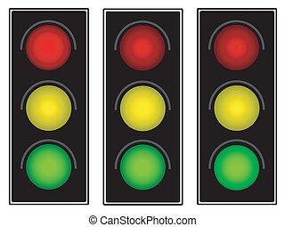 lumière, trafic