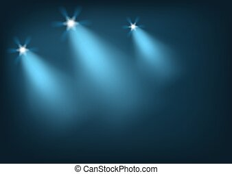 lumières, éclairé, étape, clair