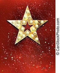 lumières, étoile