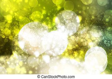 lumières, bokeh, defocused, fond, multicolore