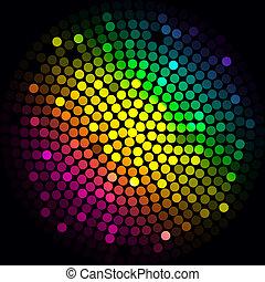 lumières, coloré