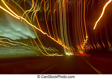 lumières, danse