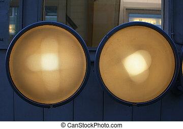 lumières, extérieur