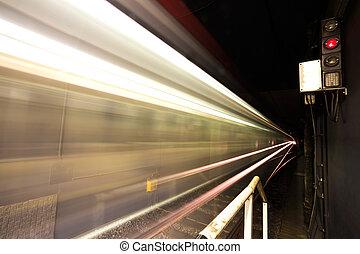 lumières, métro, fond