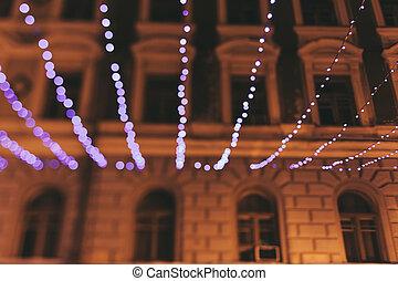lumières, noël