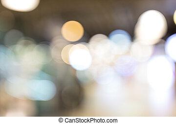 lumières, nuit, ville