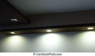 lumières, plafond