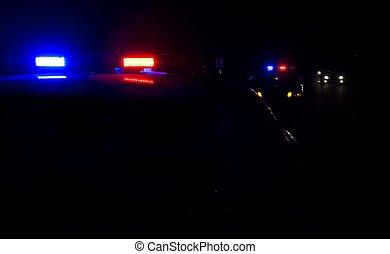 lumières, police