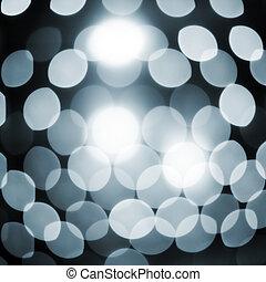 lumières, résumé, étincelant, defocused, fond