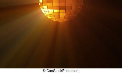 lumières, résumé, balle, fond, disco