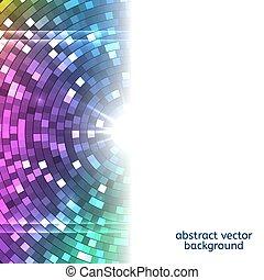 lumières, résumé, coloré, disco