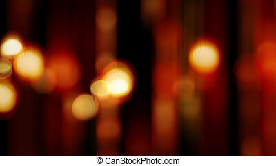lumières, résumé, fond, brouillé