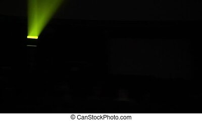 lumières, salle concert