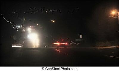 lumières, trafic, chronocinématographie