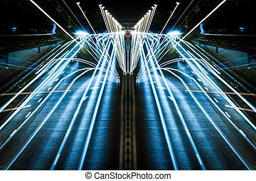 lumières, urbain