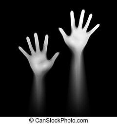 luminant, hands.