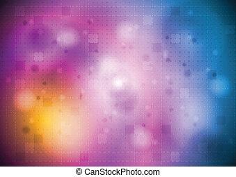 luminoso, colorido, desenho