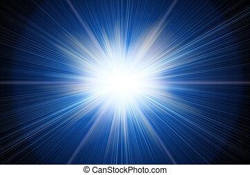 luminoso, flash