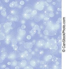 luminoso, fundo, bokeh, inverno, fundo