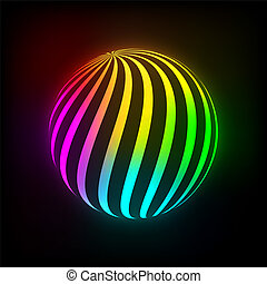 luminoso, palla