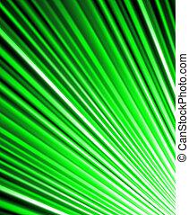 luminoso, sfondo verde, rays.