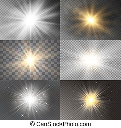 luminoso, stars., jogo