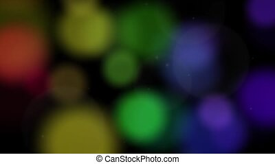 Luminous Abstract Loop #6