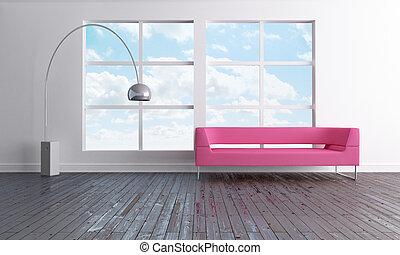Luminous loft interior - Luminous and minimal open space...
