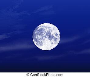 luna piena, notte