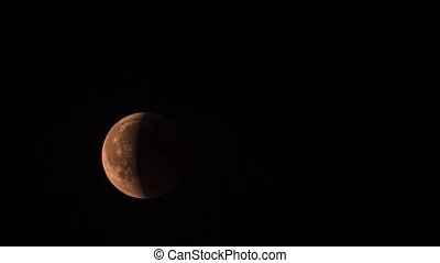 Lunar Eclipse | Bloodmoon, 27.07.2018 - Ungraded Version -...