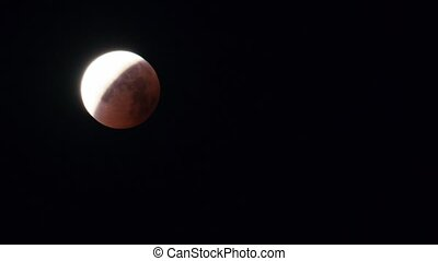 Lunar eclipse in July 2018 was observed in latitude 54,...