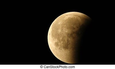 lunar eclipse July 27, 2018 - a total lunar eclipse. This...