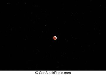 lunar eclipse, winter solstice 2010