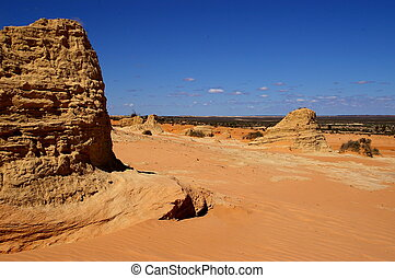 Lunar Landscape #1 - Lake Mungo National Park, NSW, ...